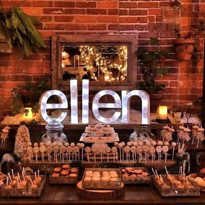 Ellen DeGeneres Christmas Party